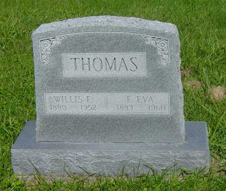 THOMAS, EVA - Wapello County, Iowa | EVA THOMAS