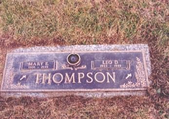 BURNS THOMPSON, MARY - Wapello County, Iowa | MARY BURNS THOMPSON