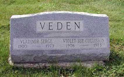 COLLISSON VEDEN, VIOLET SUE - Wapello County, Iowa | VIOLET SUE COLLISSON VEDEN