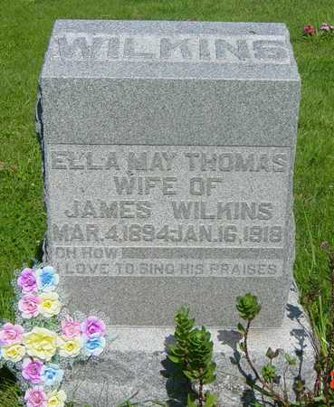 WILKINS, ELLA MAY - Wapello County, Iowa | ELLA MAY WILKINS