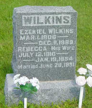 WILKINS, EZEKIAL - Wapello County, Iowa | EZEKIAL WILKINS