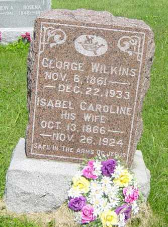 WILKINS, GEORGE - Wapello County, Iowa | GEORGE WILKINS