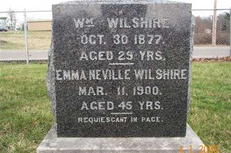 WILSHIRE, WILLIAM - Wapello County, Iowa | WILLIAM WILSHIRE