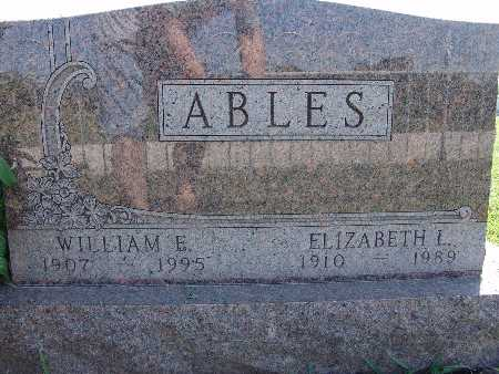 ABLES, WILLIAM E. - Warren County, Iowa | WILLIAM E. ABLES