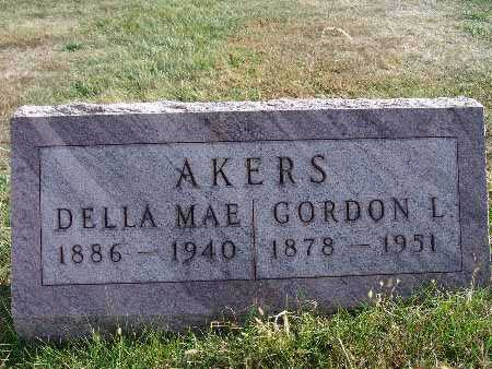 AKERS, DELLA MAE - Warren County, Iowa | DELLA MAE AKERS
