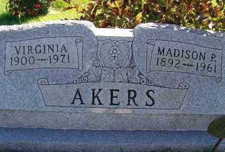 AKERS, MADISON P. - Warren County, Iowa | MADISON P. AKERS
