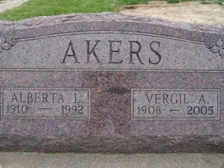 AKERS, ALBERTA L. - Warren County, Iowa | ALBERTA L. AKERS
