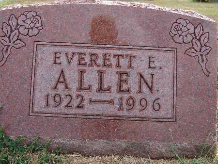 ALLEN, EVERETT E. - Warren County, Iowa | EVERETT E. ALLEN