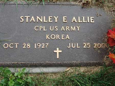 ALLIE, STANLEY E. - Warren County, Iowa | STANLEY E. ALLIE