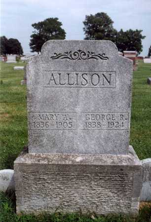 ALLISON, MARY ANN - Warren County, Iowa | MARY ANN ALLISON