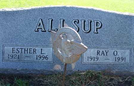 ALLSUP, RAY O. - Warren County, Iowa | RAY O. ALLSUP