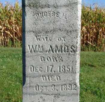 AMOS, PHOEBE M. - Warren County, Iowa | PHOEBE M. AMOS