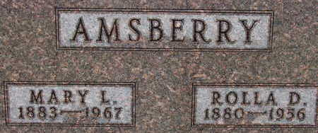 AMSBERRY, MARY L - Warren County, Iowa | MARY L AMSBERRY