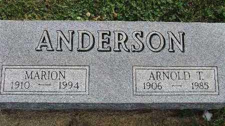 ANDERSON, ARNOLD T. - Warren County, Iowa | ARNOLD T. ANDERSON