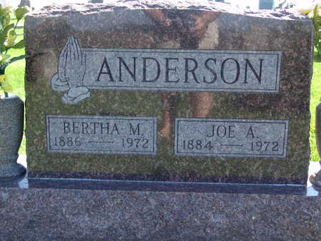 ANDERSON, JOE A - Warren County, Iowa | JOE A ANDERSON