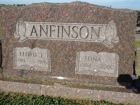 ANFINSON, LLOYD E. - Warren County, Iowa | LLOYD E. ANFINSON