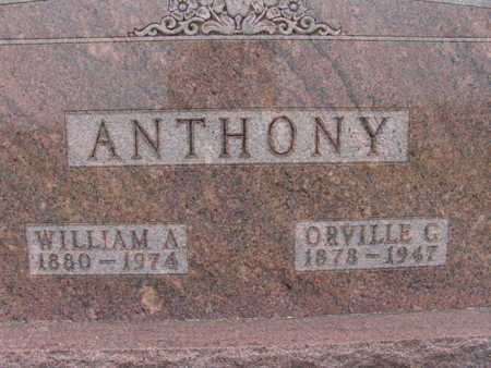 ANTHONY, ORVILLE G. - Warren County, Iowa | ORVILLE G. ANTHONY