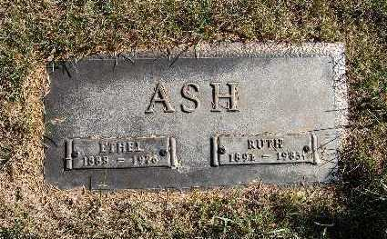 ASH, ETHEL - Warren County, Iowa | ETHEL ASH
