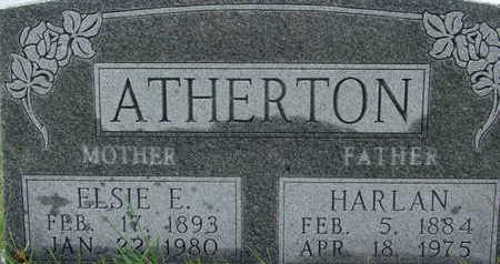ATHERTON, ELSIE E - Warren County, Iowa | ELSIE E ATHERTON