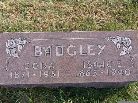 BADGLEY, ISAAC E. - Warren County, Iowa | ISAAC E. BADGLEY