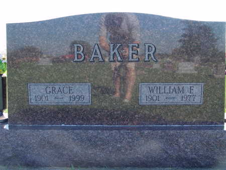 BAKER, WILLIAM F - Warren County, Iowa | WILLIAM F BAKER