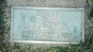 MOTE BALDWIN, ANNA JANE - Warren County, Iowa | ANNA JANE MOTE BALDWIN