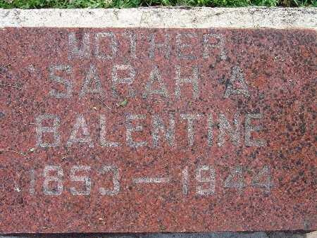 BALENTINE, SARAH A. - Warren County, Iowa | SARAH A. BALENTINE