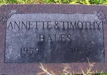 BALES, TIMOTHY - Warren County, Iowa | TIMOTHY BALES