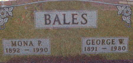 BALES, GEORGE W - Warren County, Iowa | GEORGE W BALES