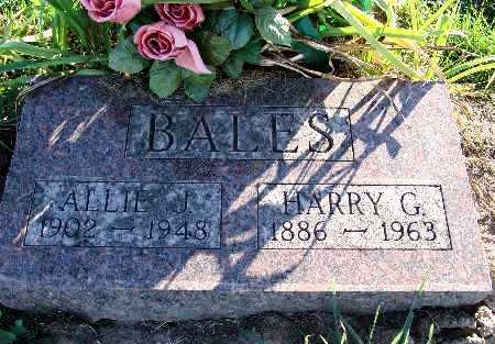 BALES, HARRY G. - Warren County, Iowa | HARRY G. BALES