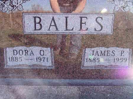 BALES, DORA O. - Warren County, Iowa | DORA O. BALES