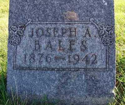 BALES, JOSEPH A. - Warren County, Iowa | JOSEPH A. BALES