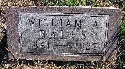 BALES, WILLIAM A. - Warren County, Iowa | WILLIAM A. BALES