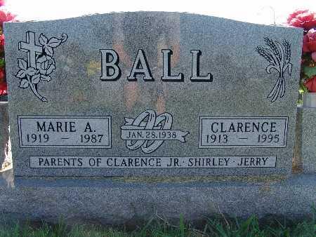 BALL, MARIE A - Warren County, Iowa | MARIE A BALL