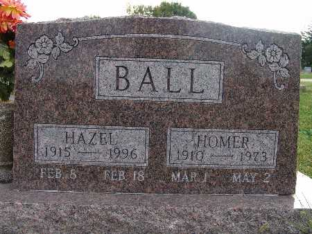 BALL, HOMER - Warren County, Iowa | HOMER BALL