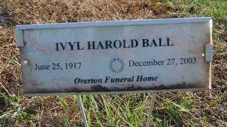 BALL, IVYL HAROLD - Warren County, Iowa | IVYL HAROLD BALL