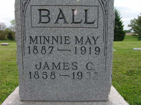 BALL, MINNIE MAY - Warren County, Iowa | MINNIE MAY BALL