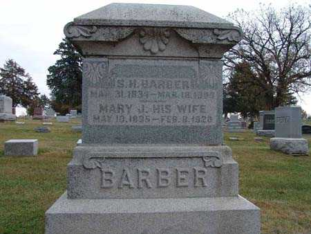 BARBER, MARY J. - Warren County, Iowa | MARY J. BARBER
