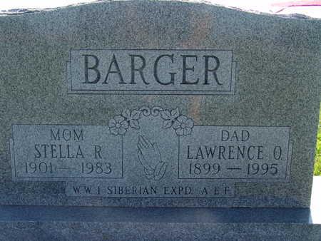 BARGER, STELLA R. - Warren County, Iowa | STELLA R. BARGER