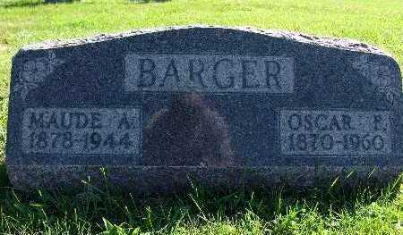 BARGER, MAUDE A. - Warren County, Iowa | MAUDE A. BARGER