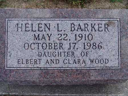 WOOD BARKER, HELEN L. - Warren County, Iowa | HELEN L. WOOD BARKER