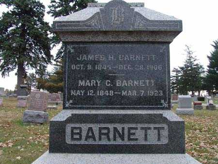 BARNETT, JAMES H. - Warren County, Iowa | JAMES H. BARNETT