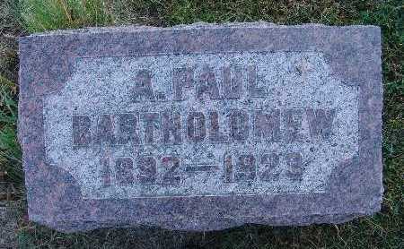 BARTHOLOMEW, A. PAUL - Warren County, Iowa | A. PAUL BARTHOLOMEW