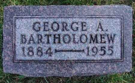 BARTHOLOMEW, GEORGE A. - Warren County, Iowa | GEORGE A. BARTHOLOMEW