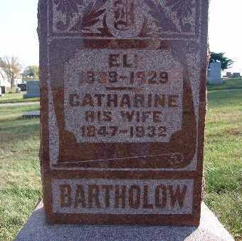 BARTHOLOW, CATHARINE - Warren County, Iowa | CATHARINE BARTHOLOW