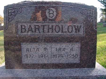 BARTHOLOW, IRA A. - Warren County, Iowa | IRA A. BARTHOLOW