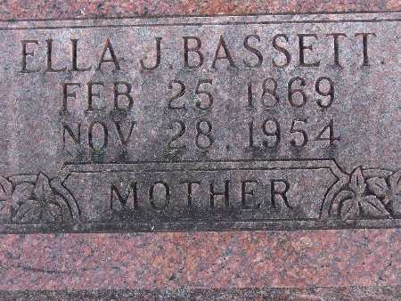 WELLS BASSETT, ELLA J. - Warren County, Iowa | ELLA J. WELLS BASSETT