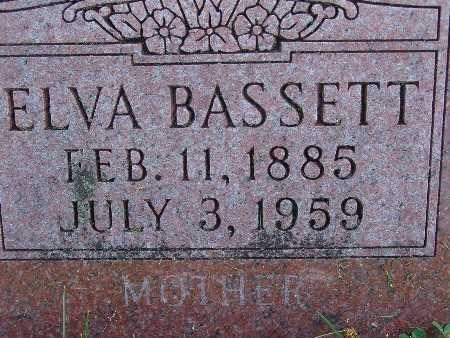 BASSETT, ELVA - Warren County, Iowa | ELVA BASSETT