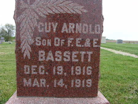 BASSETT, GUY ARNOLD - Warren County, Iowa | GUY ARNOLD BASSETT
