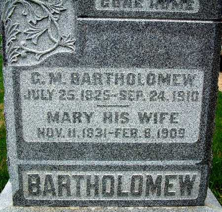 BARTHOLOMEW, GEORGE - Warren County, Iowa | GEORGE BARTHOLOMEW